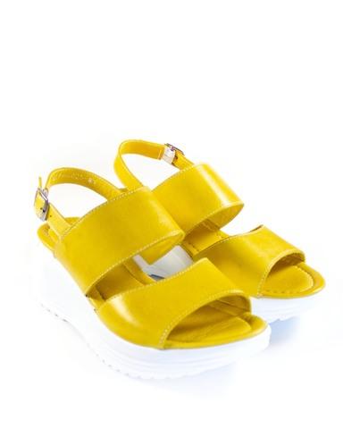желтые босоножки SM