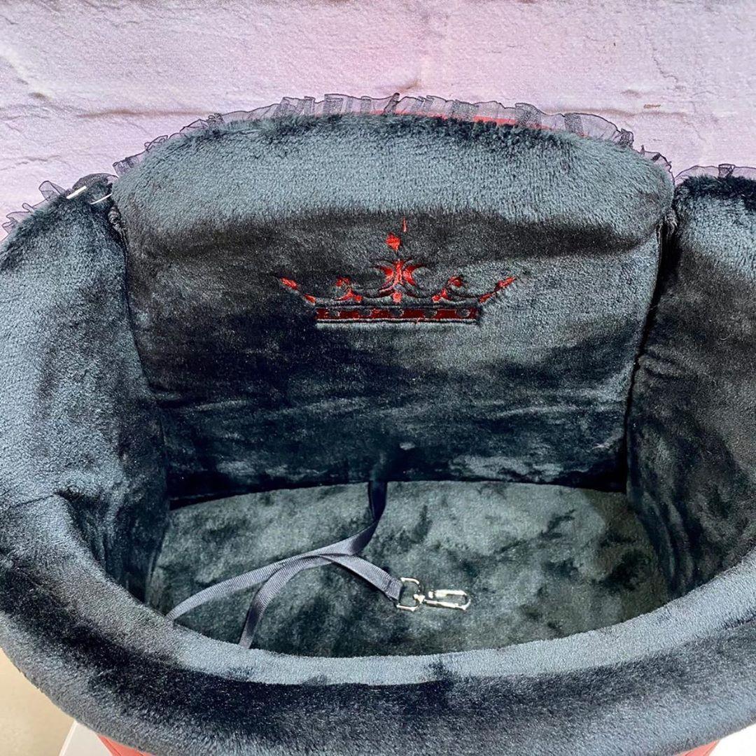 1954/1 - Подвесное автокресло для собак красное