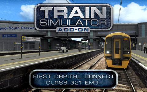 Train Simulator: First Capital Connect Class 321 EMU Add-On (для ПК, цифровой ключ)