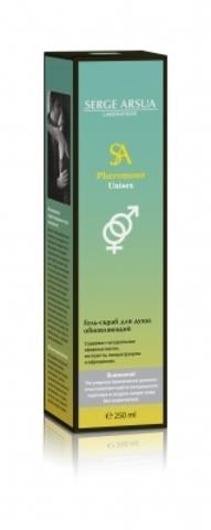 Гель-скраб для душа обновляющий 250 мл  Pheromone Unisex НИИ Натуротерапии ТМ Serge Arsua
