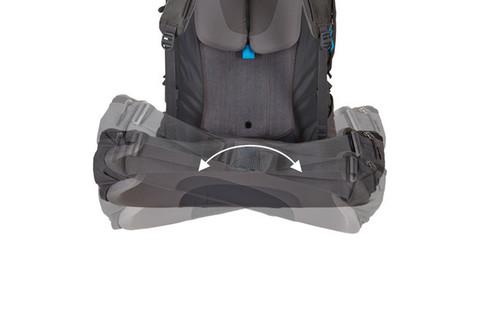 Картинка рюкзак туристический Thule Guidepost 65L Серый/Тёмно-Серый - 10