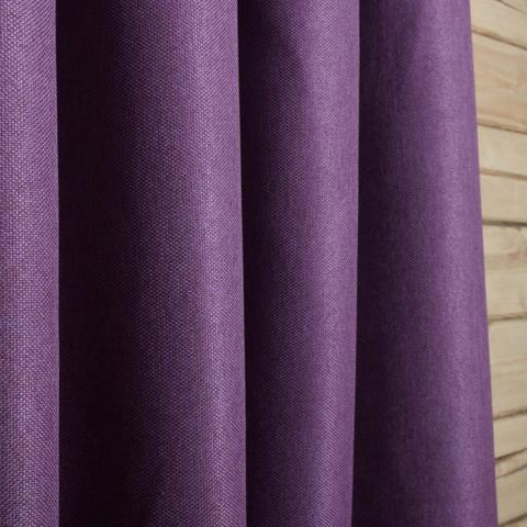 Блэкаут рогожка для штор фиолетоваяя. Ш-280 см. Арт. Т-818-30
