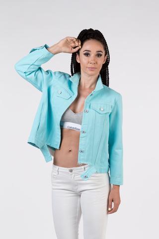 джинсовая куртка с нашивкой на спине купить