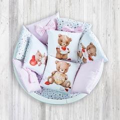 """Комплект для детской кроватки """"Любимый Мишка"""""""