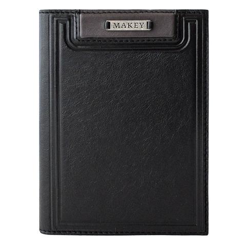 Обложка на паспорт «Black». Цвет черный