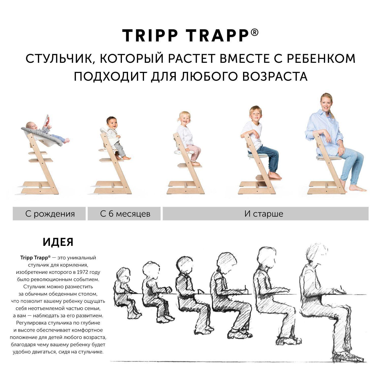 Tripp Trapp® Стульчик Stokke Storm Grey