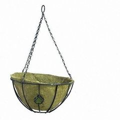 Кашпо Коковита сфера 30,5 см А-128 (декор.вставка стекло)