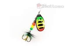 Блесна Mottomo Fire Blade #1 5g Fire Tiger 54