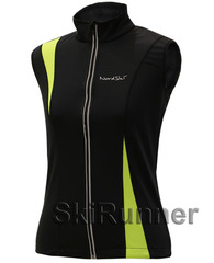 Лыжный жилет Nordski Active Black/Lime женский