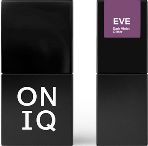 Гель-лак ONIQ Dark Violet Glitter