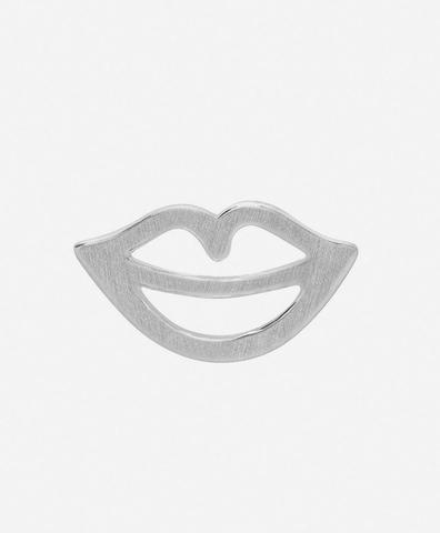 Моно-серьга Secret silver