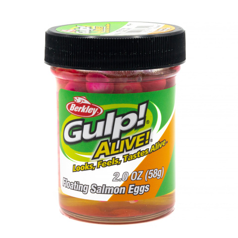 Приманка силиконовая Berkley Gulp! Alive!  Floating Salmon Eggs Arctic Pink (1313090) Имитация икры