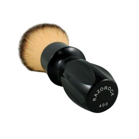 Помазок Для бритья RazoRock 400 Plissoft черная глянец