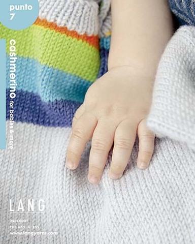 Журнал Punto 7 CASHMERINO FOR BABIES AND MORE