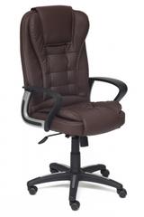 Кресло компьютерное Барон (BARON) — коричневый/коричневый перфорированный (36-36/36-36/06)