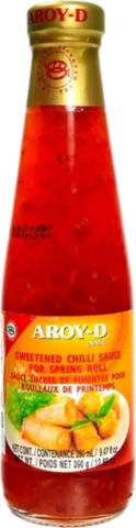 Соус Aroy-D Sweetened chilli for spring roll, 360 г