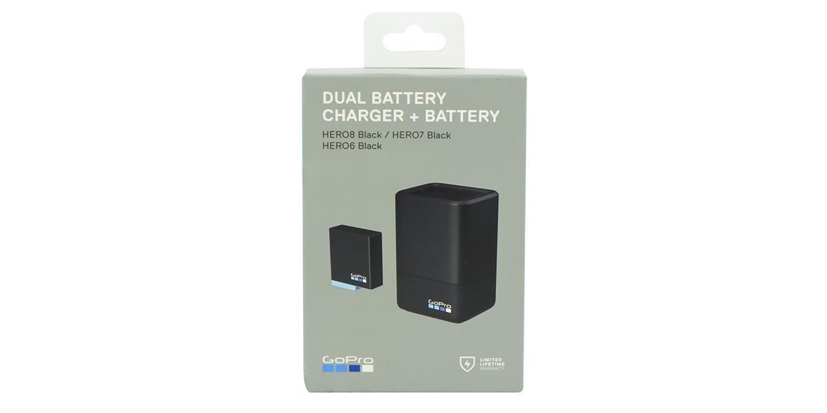 Зарядное устройство для двух аккумуляторов GoPro HERO6/7/8 Dual Battery Charger + Battery