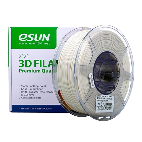 ESUN PLA+ 1.75 мм 1кг., светящийся зеленый