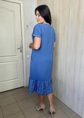 Една. Зручна повсякденна сукня великих розмірів. Денім