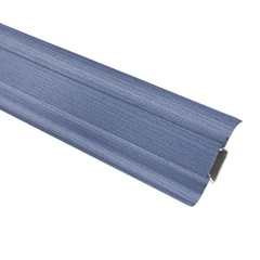 Плинтус ПВХ Ideal Комфорт К55 024 синий 2500х55х22 мм