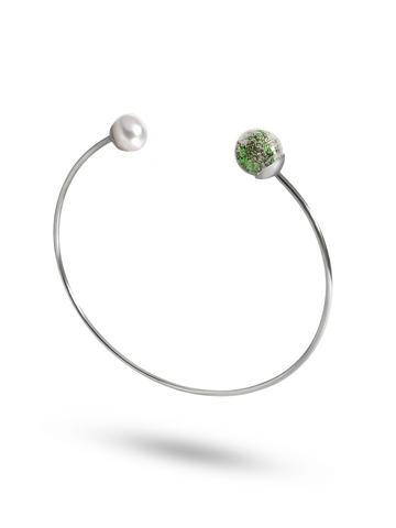 Браслет с жемчугом Carlotta Ca'doro Emerald Silver 030OB