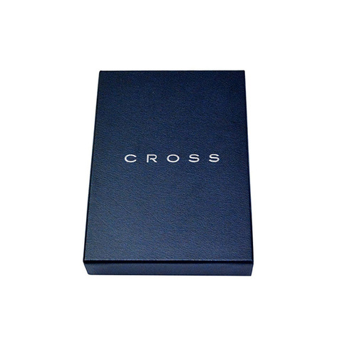 Обложка для документов Cross Nueva FV, серая, 14х11х1 см