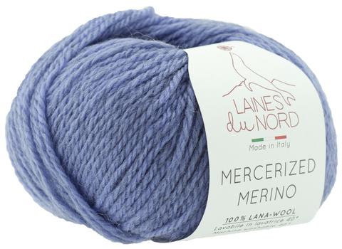 Пряжа Mercerized Merino (Мерсеризед Мерино). Серо-сиреневый.Артикул: 29