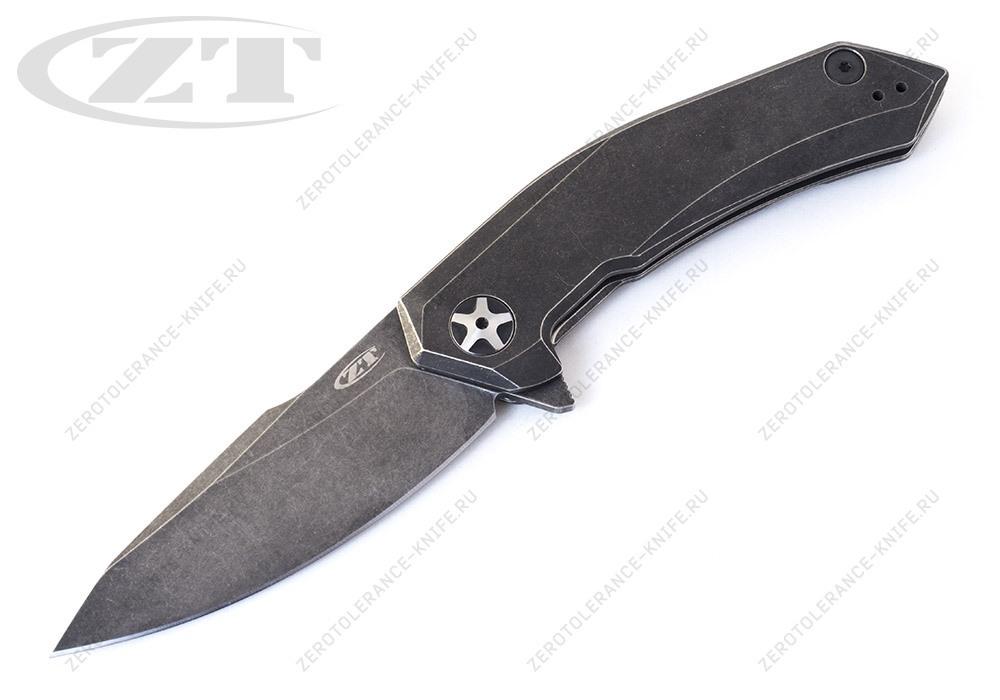 Нож Zero Tolerance 0095BW smooth handle