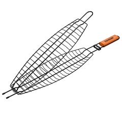 Решетка-гриль для рыбы большая с антипригарным покрытием