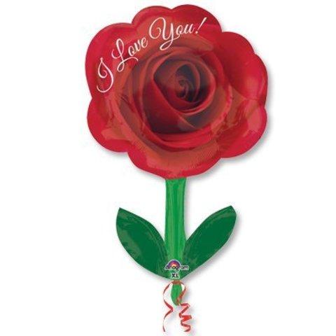 А ФИГУРА/S50 ILY Роза со стеблем