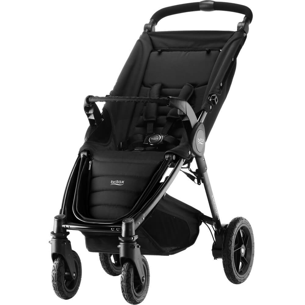 Britax B-Motion 4 Plus Прогулочный блок + рама Britax B-Motion 4 Plus Cosmos Black B-MOTION_4_PLUS_02_UncoveredBumperBarNewFootrest__1_.jpg