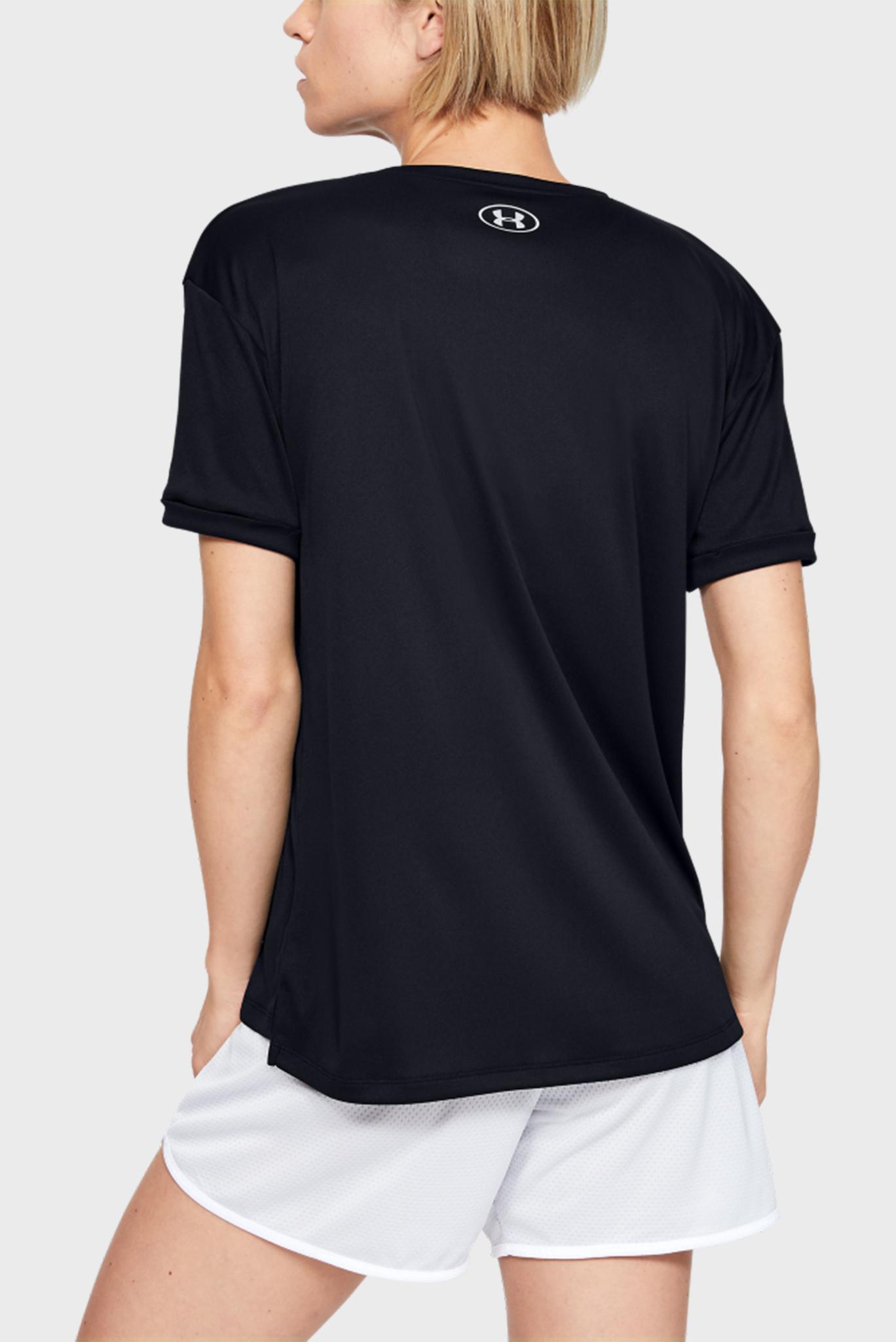 Женская черная спортивная футболка Performance Graphic SS Under Armour