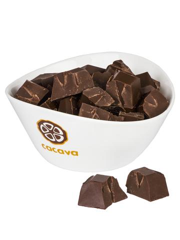 Тёмный шоколад 70% какао (Перу,  Marañón), внешний вид