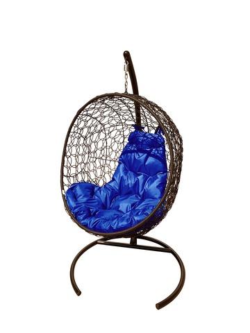Кресло подвесное Porto brown/blue