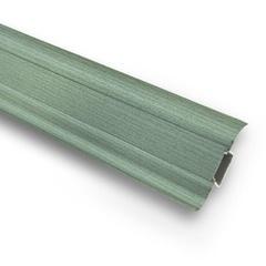 Плинтус ПВХ Ideal Комфорт К55 027 зеленый 2500х55х22 мм