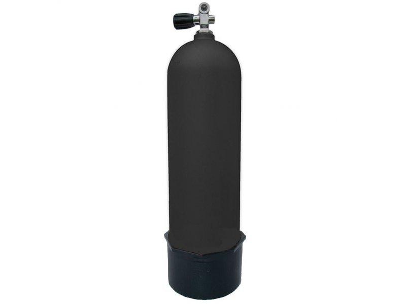 Баллон xs scuba 12л, алюминий (комплект) черный