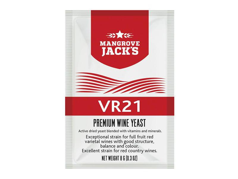 Дрожжи винные Дрожжи винные Mangrove Jack`s VR-21 8г. ФАСОВКА Дрожжи_винные_Mangrove_Jack_s_VR-21_8г.jpg