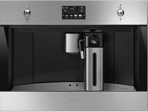 Встраиваемая кофемашина Smeg CMS4303X