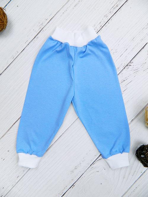 Штанишки 1402, голубые