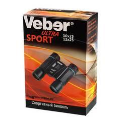 Бинокль Veber Ultra Sport БН 10x25 черный