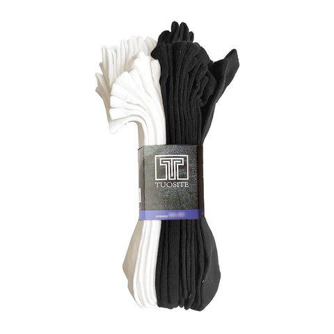 Носки мужские - набор из 10 пар (черн/бел) TUOSITE TSS807-3