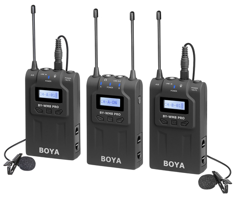 Радиомикрофон Boya BY-WM8 Pro-K2 черный
