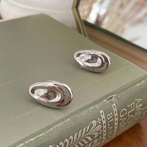 Серьги-кластеры в виде капель ш925 (серебристый)