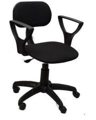 Кресло ЛИГА 2 газлифт ткань черная