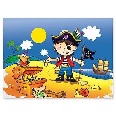 Скатерть  Маленький пират 130 Х 180см