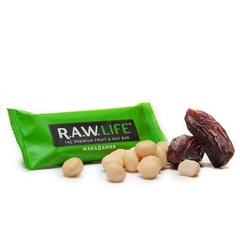 Батончик натуральный R.A.W. LIFE Green Макадамия