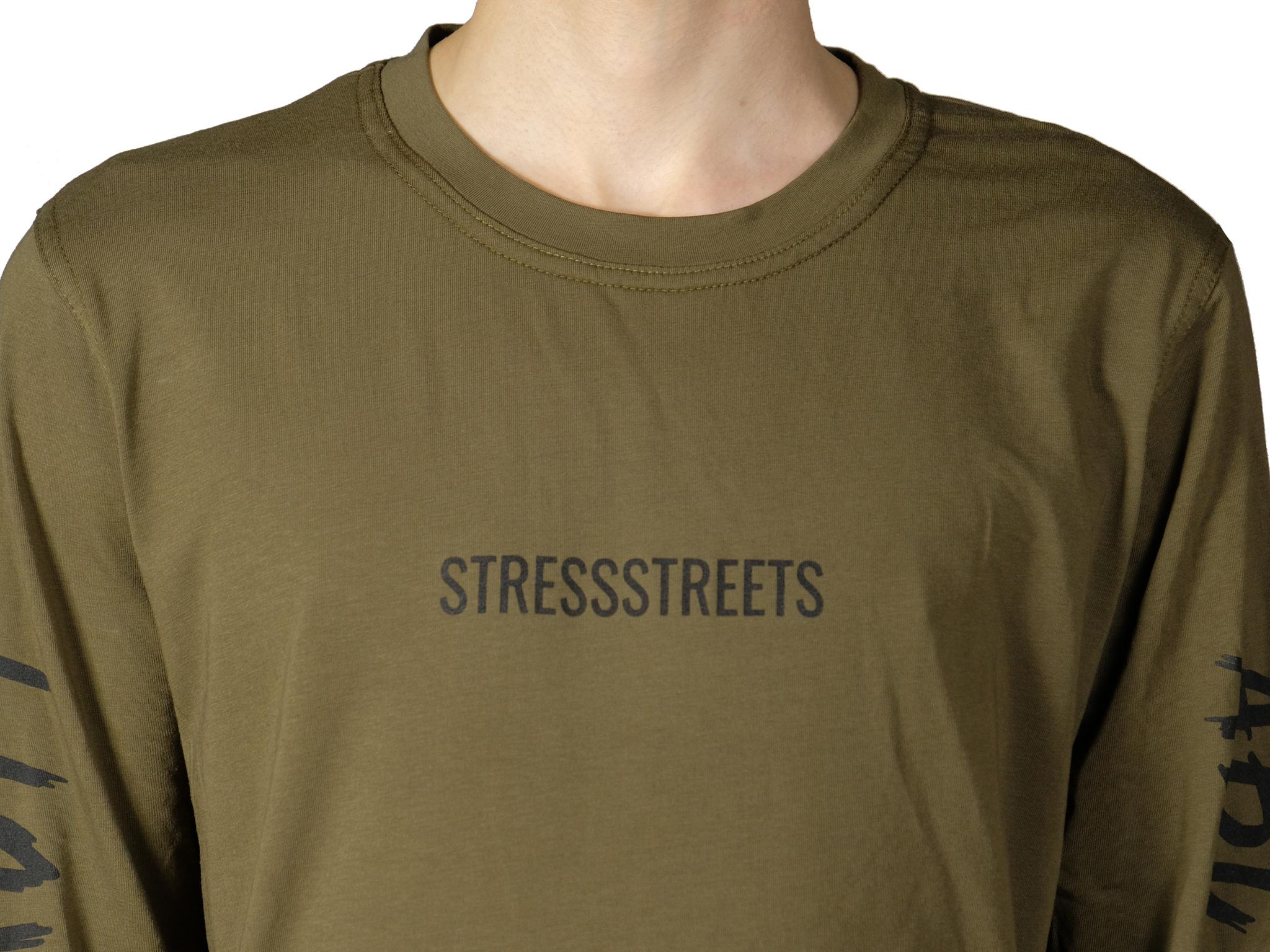 "Лонгслив STRESS ""STRESSSTREETS"""