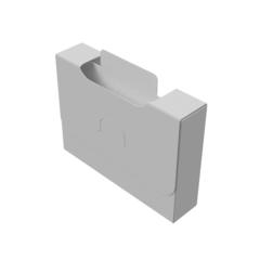 Органайзер для карт Uniq Card-File Standard - 20 mm (белый)