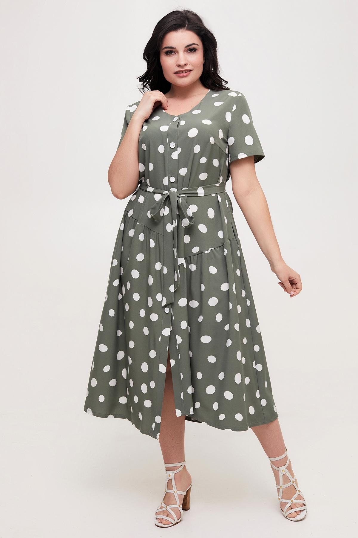 Сукня Барбара (оливка)