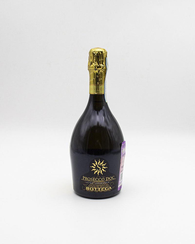 Вино Белое Игристое Bottega Просеко Брют Каса Боттега C 11%, 0,75 л